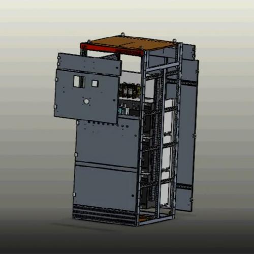 电优科技模块组总装配体